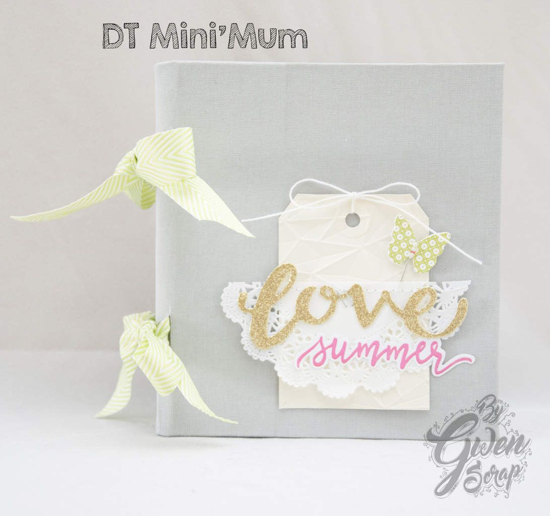 "Mini ""Love Summer"" - Défi reliure {DT Mini'mum}"