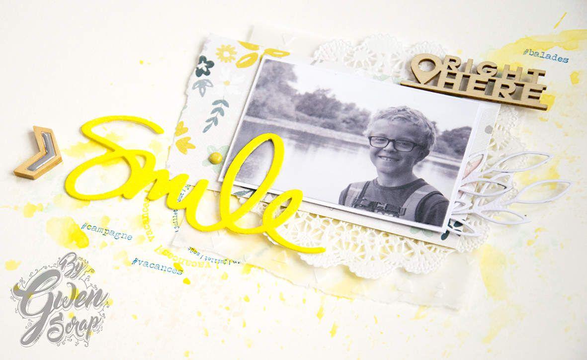 Smile - Défi octobre {DT Inspiration Création}