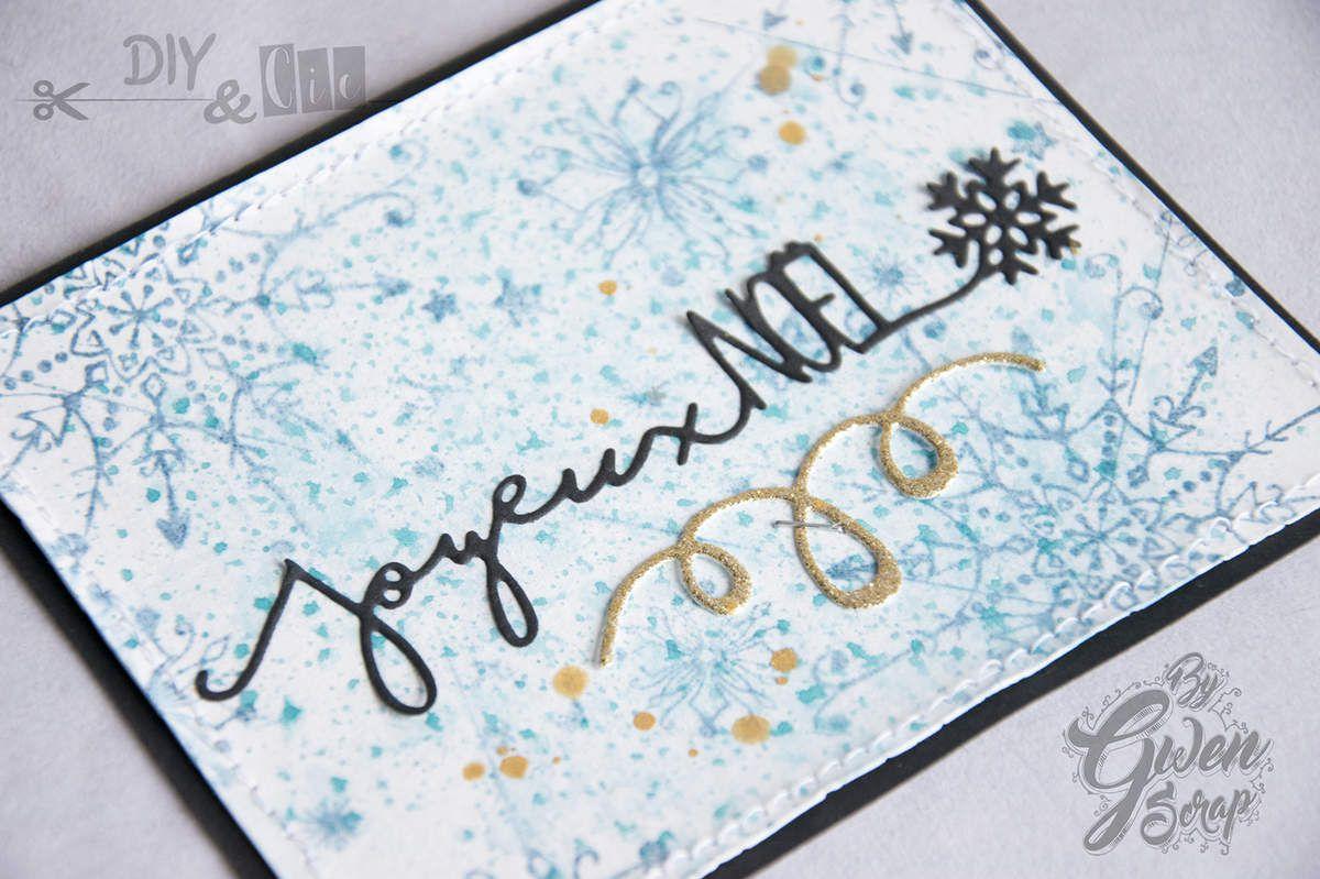 CARTE &quot&#x3B;Joyeux Noël&quot&#x3B; + Vidéo {DT DIY &amp&#x3B; Cie}