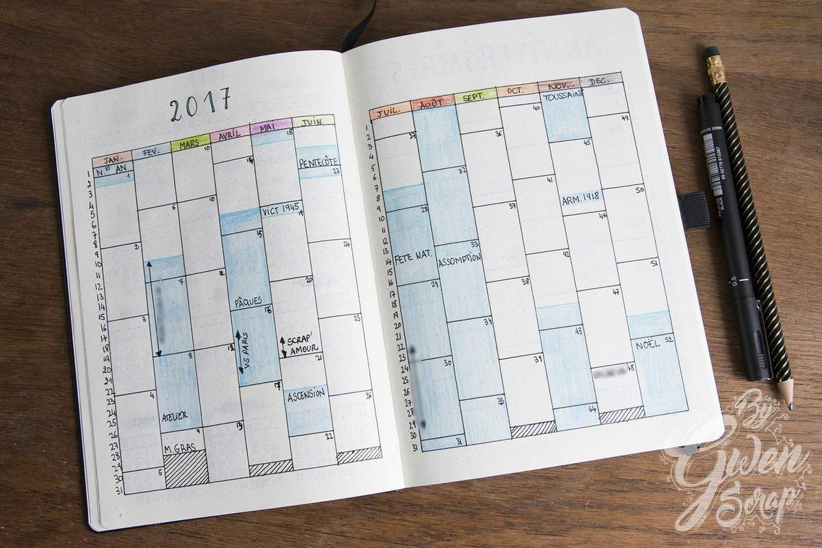 Bullet Journal 2017 {DT Mini'mum}