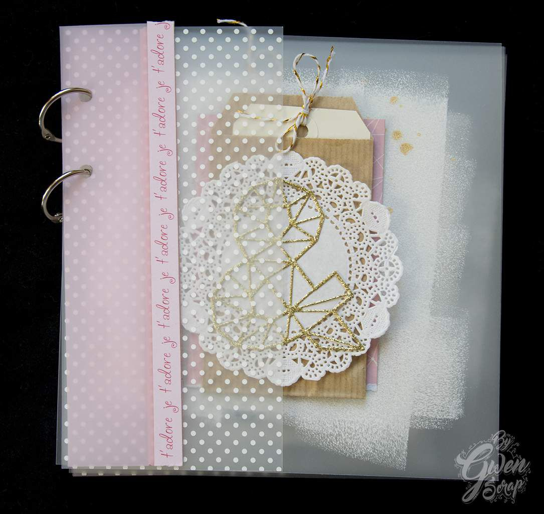Mini-album &quot&#x3B;&amp&#x3B;&quot&#x3B; {DT Laura Pack}