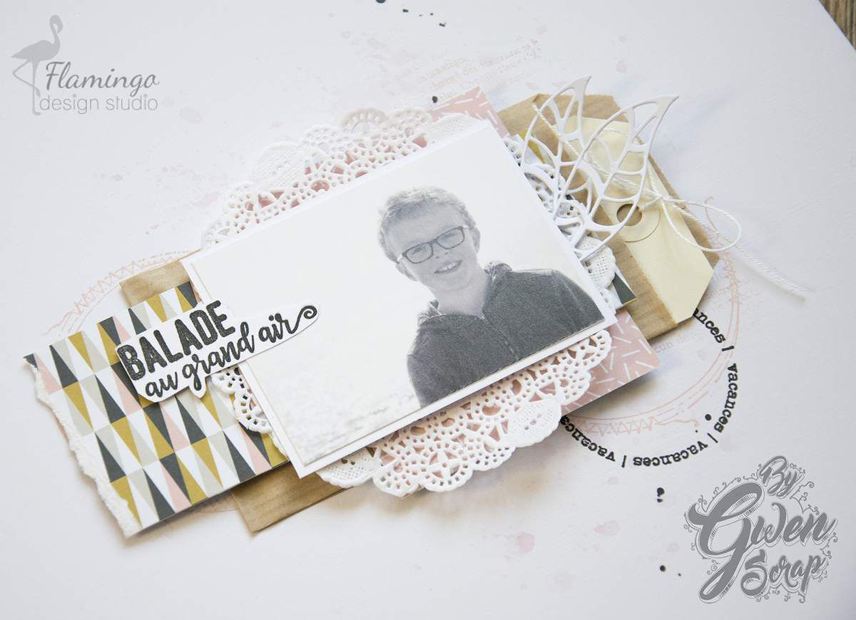 Balade au grand air {DT Flamindo Design Studio}