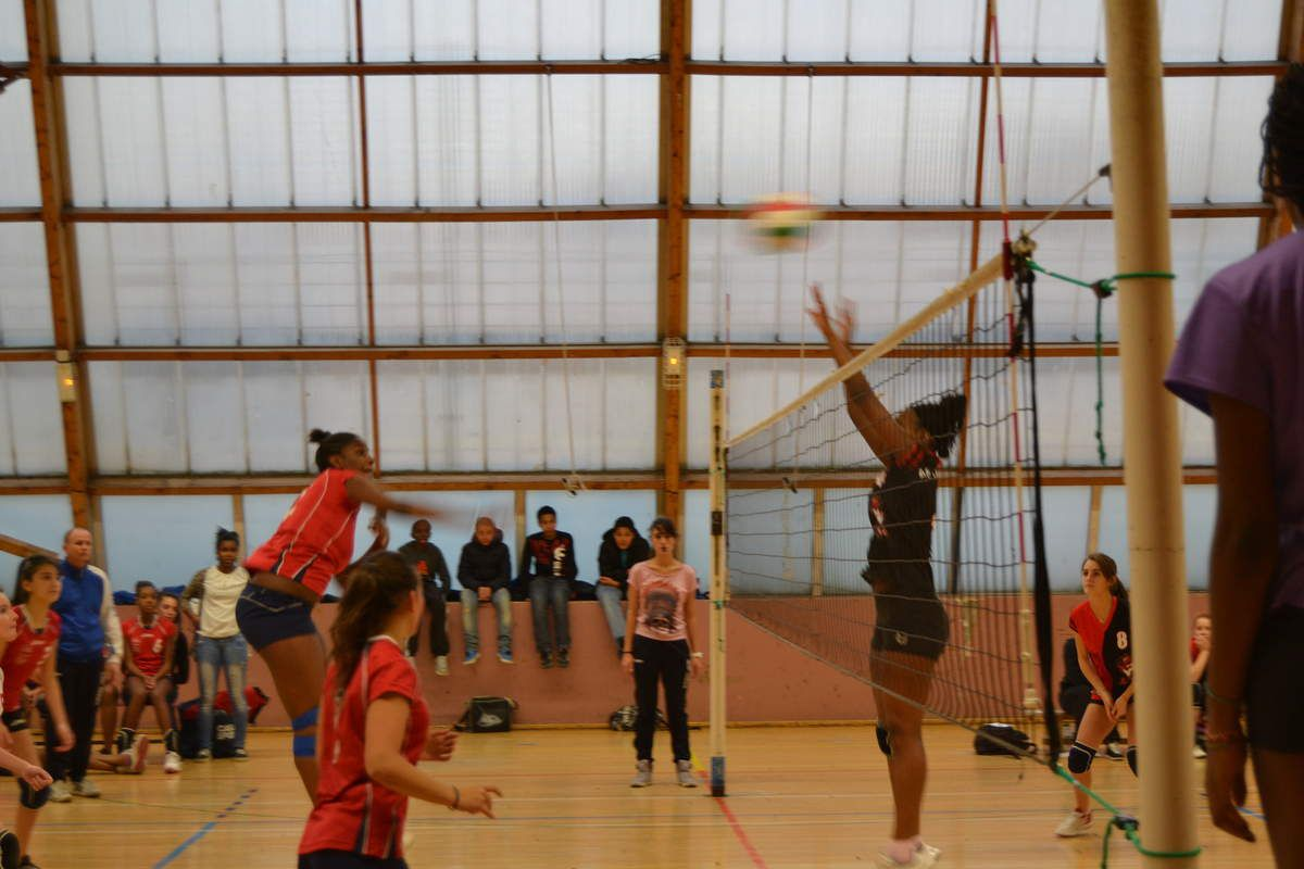 Calendrier AS volley 2016/17