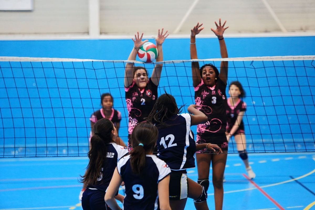 AS volley semaine du 18 au 21 avril 2017
