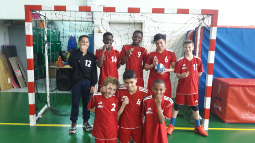 Les benjamins 1 : CHAMPION DU DISTRICT