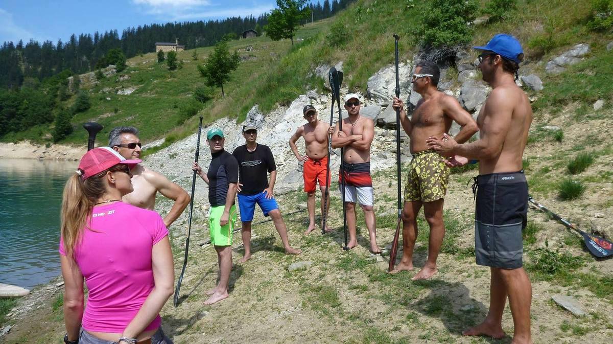 Alpine SUP Camp