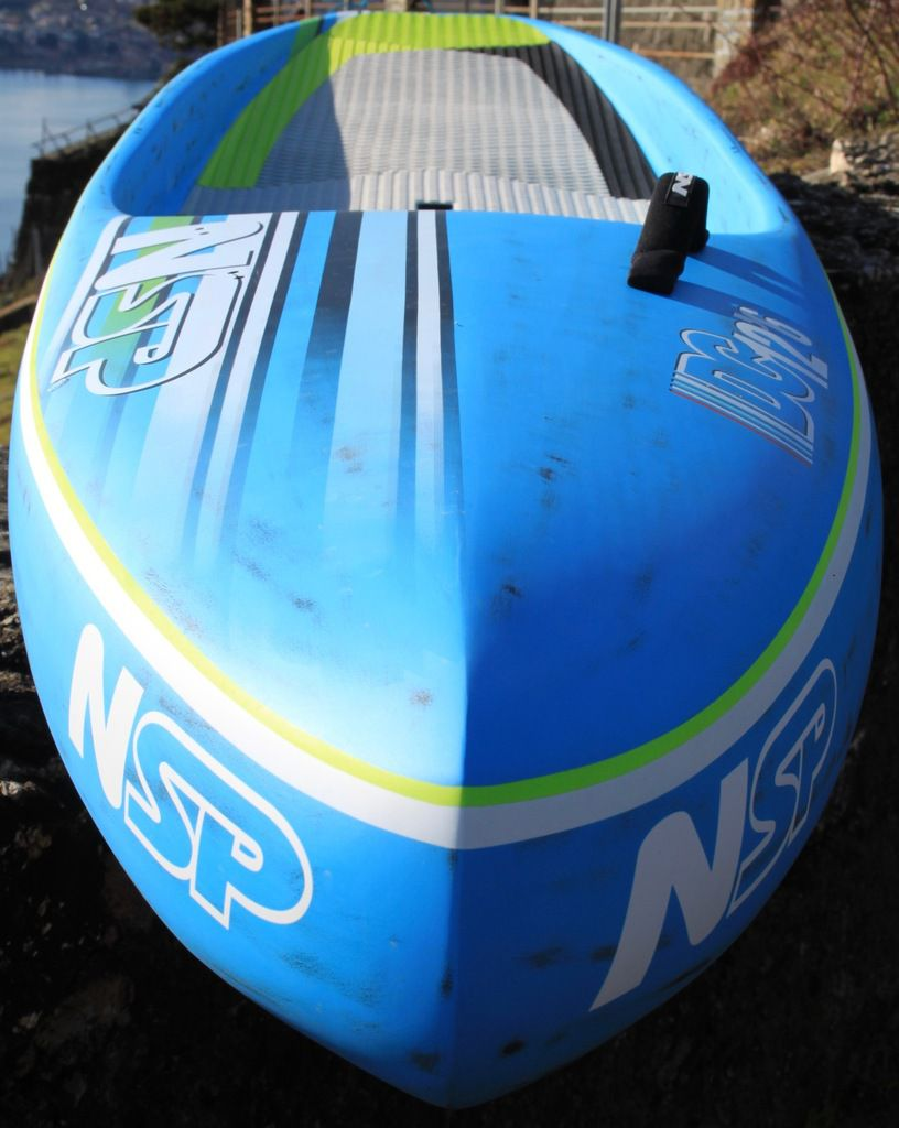 NSP DC Flatwater Race 12'6 x 25.5″ brushed carbon, 259.2 l Volume