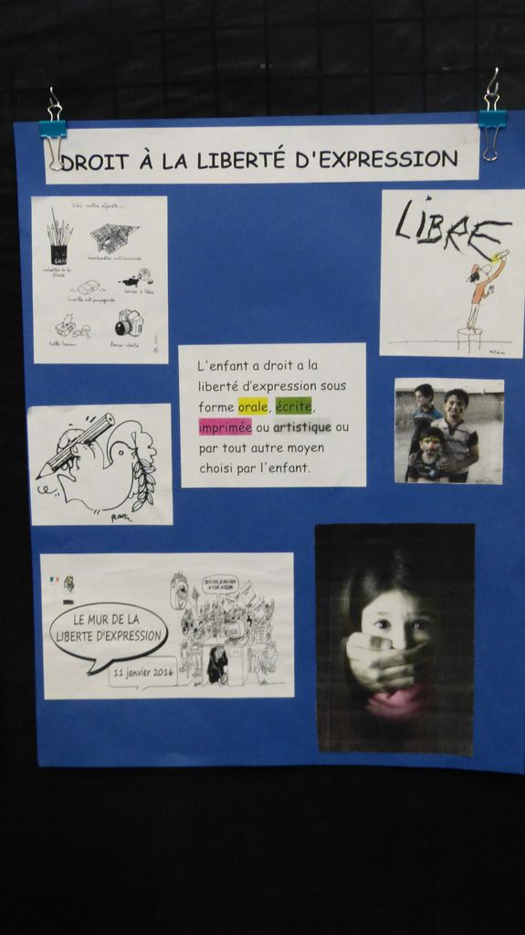La semaine des droits des enfants