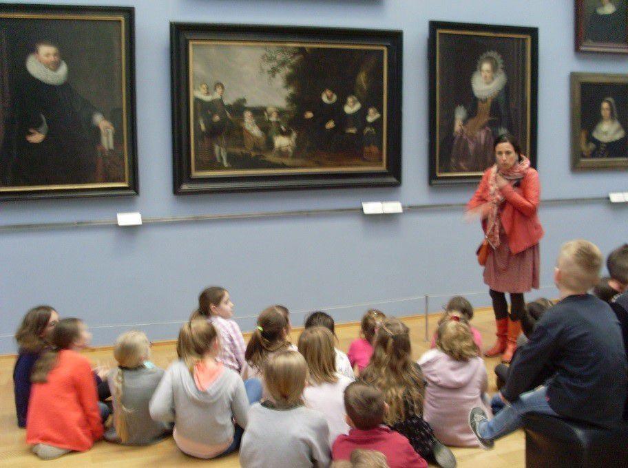 Visite des CM1 au Palais des Beaux-Arts de Lille