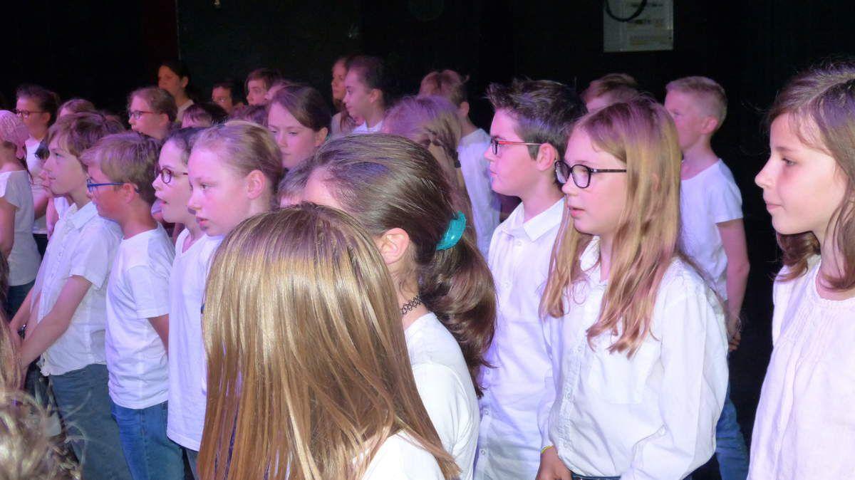Rencontres chantantes 2017: les CM2