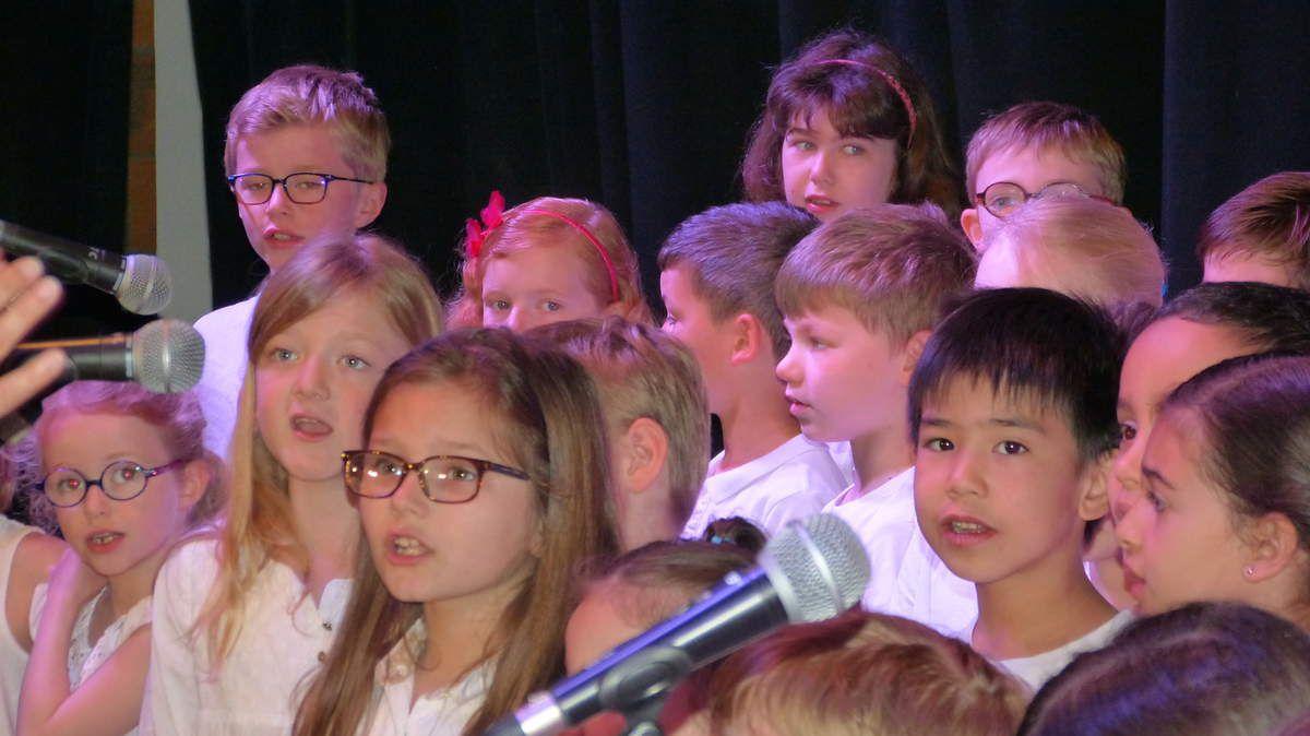Rencontres chantantes 2017: les CE1