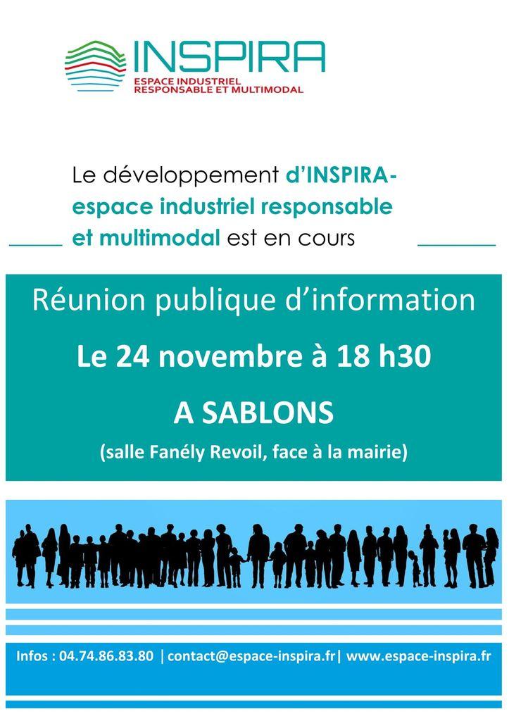 Réunion publique d'information sur le développement d'Inspira