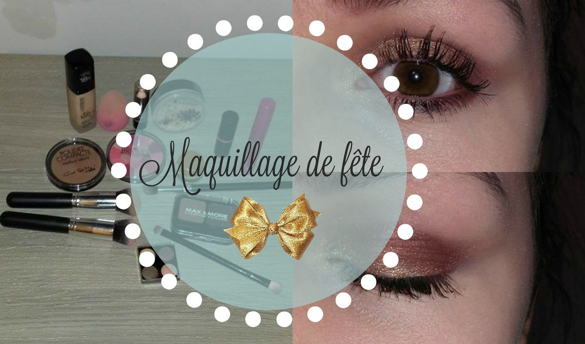 Maquillage de fête (Nouvel an)