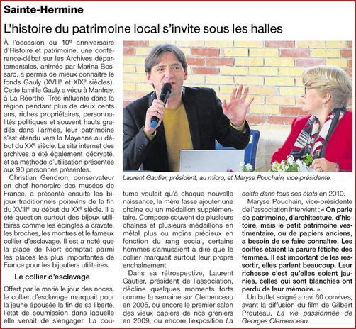 Ouest France 28 04 2015