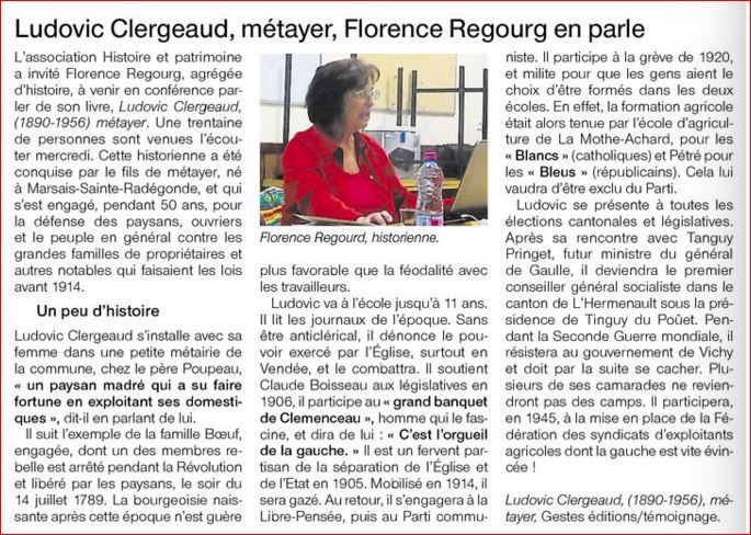 Ouest France 19 10 2015