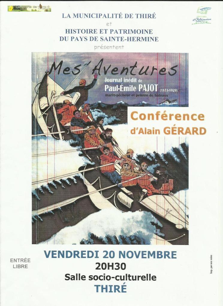 Conférence A Gérard