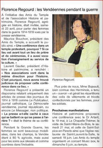 Ouest France 27 04 2016