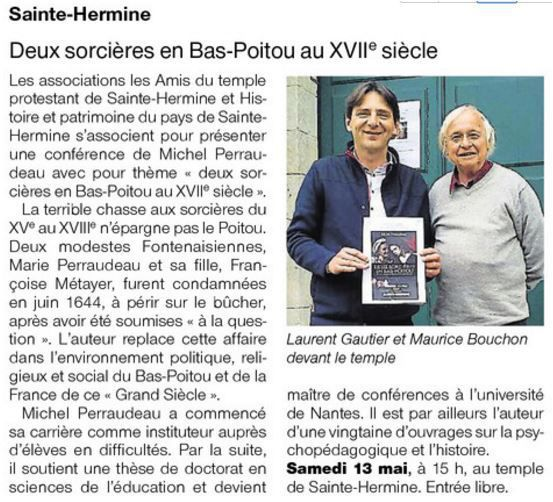 Ouest France 10 05 2017