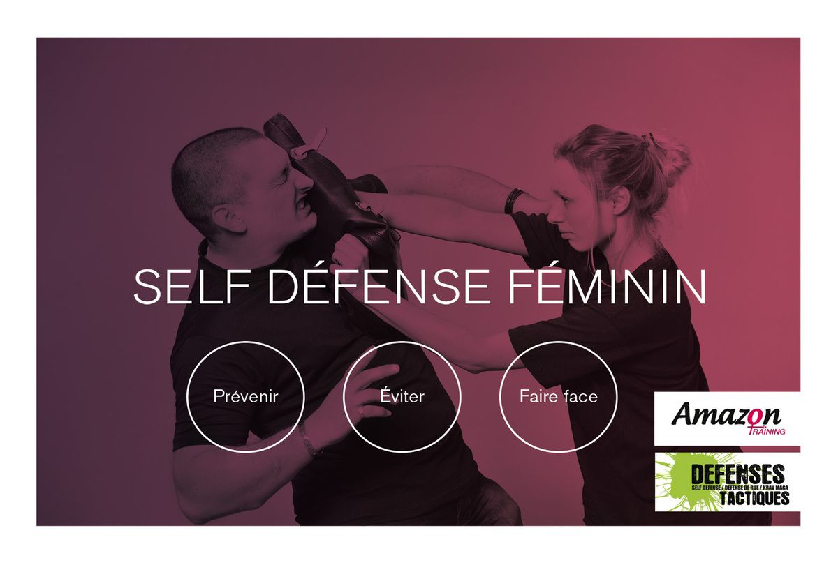 Amazon training, self défense féminine