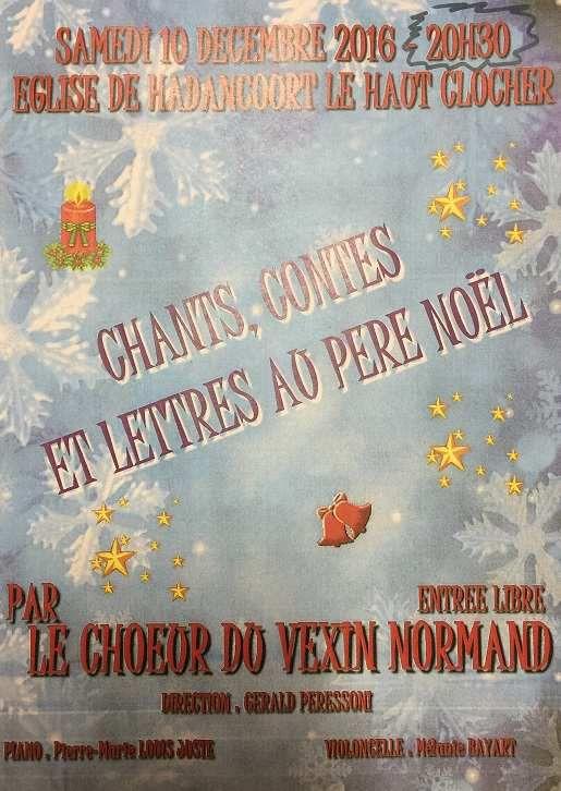 Chants, Contes et Lettres au Père Noël...