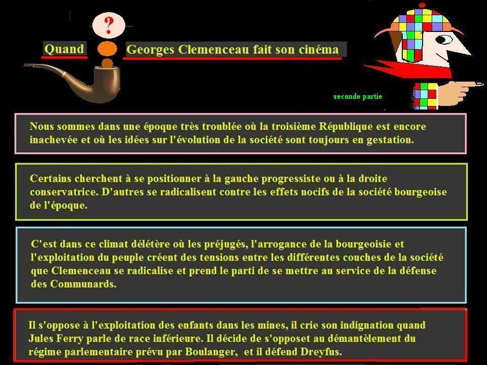 Clemenceau n'était pas un enfant de choeur