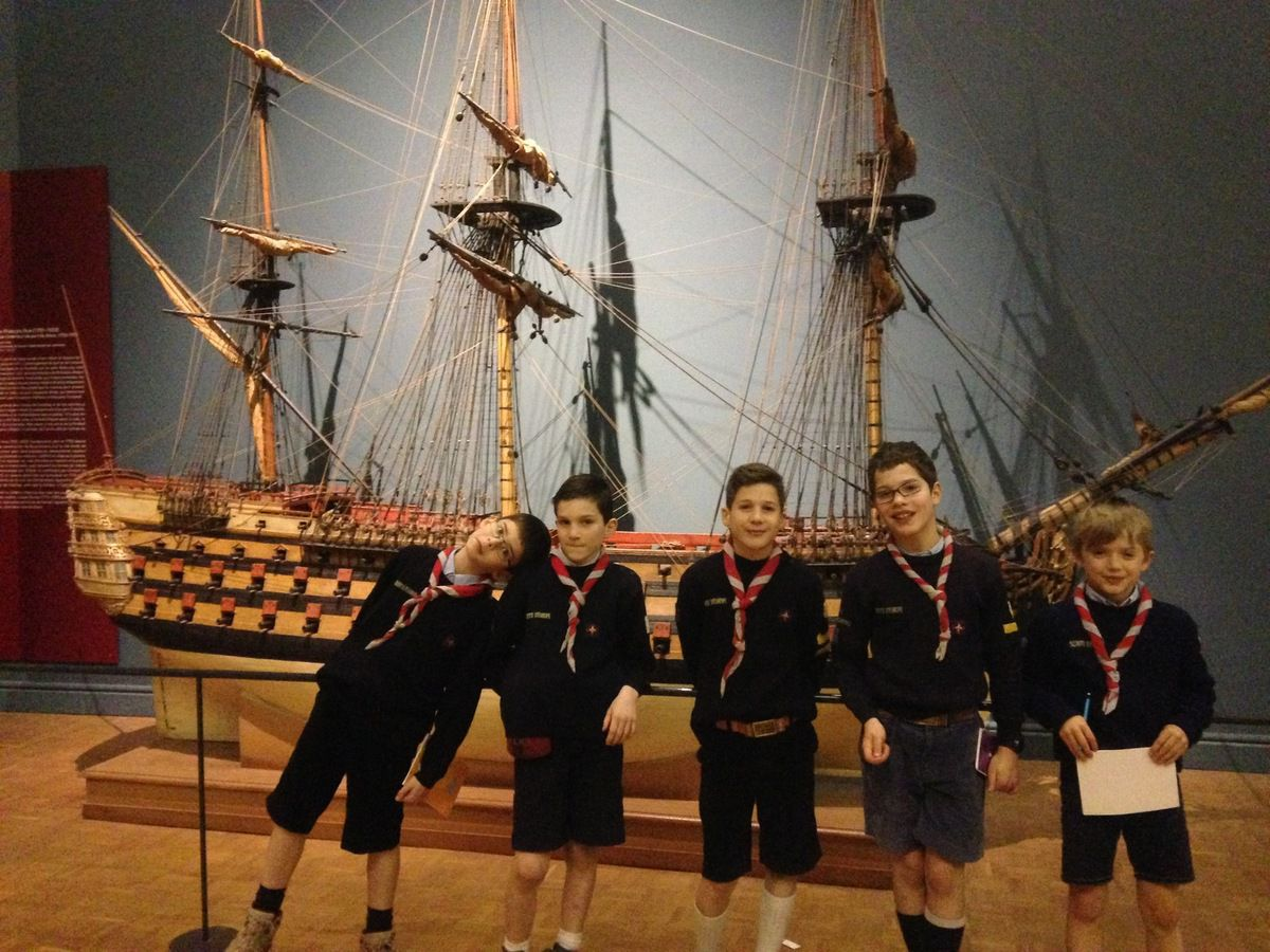 Photos de la Sortie de la meute au musée de la Marine