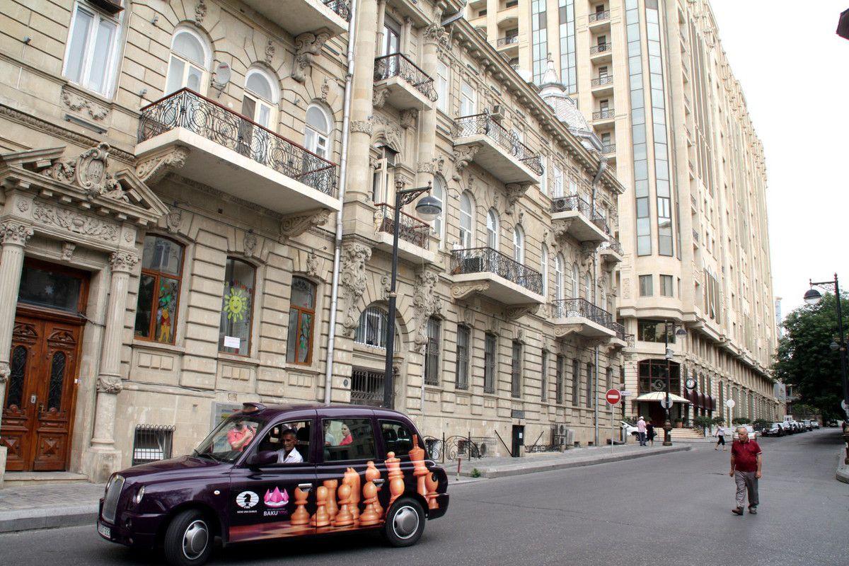 61 - GT - PHOTOS AZERBAIDJAN - BAKOU avec un peu de SHEKI au milieu