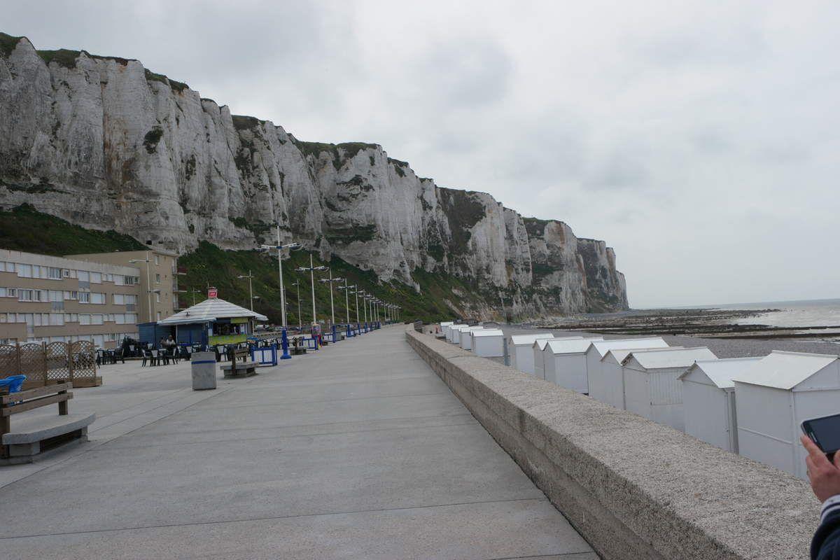 Les falaises sont impressionantes! Le funiculaire aussi! Et que dire du marché aux poissons...