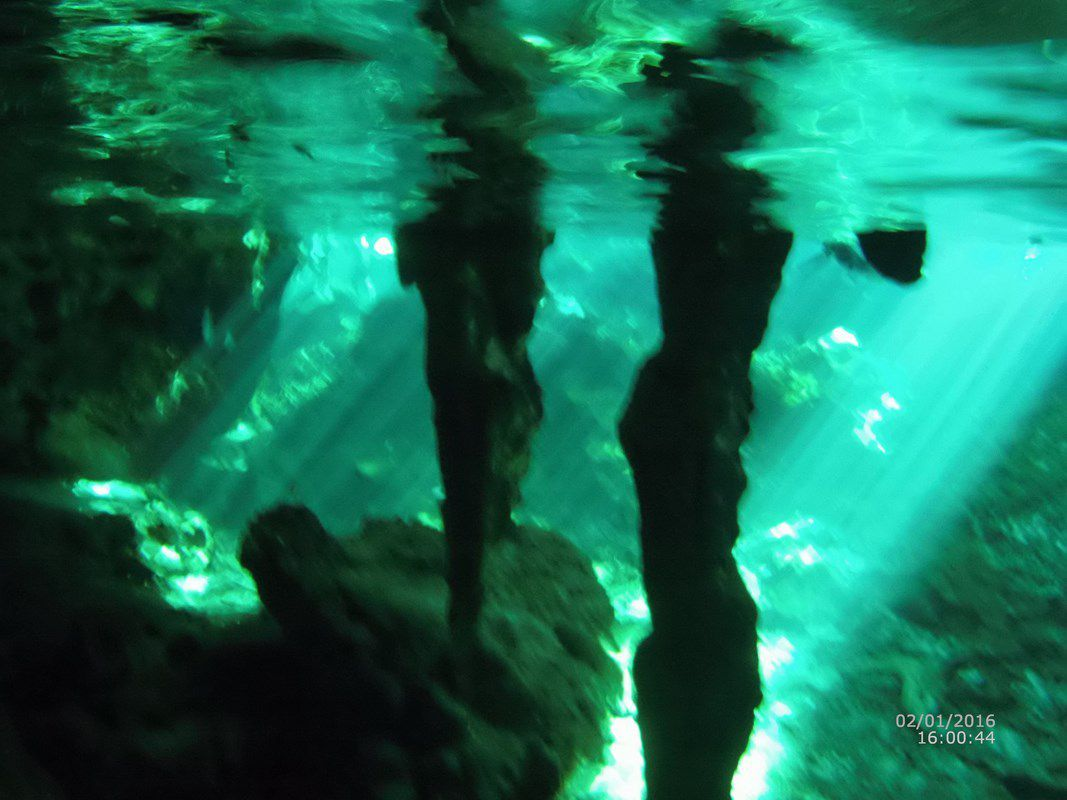 El Gan Cenote, notre premier cenote ...