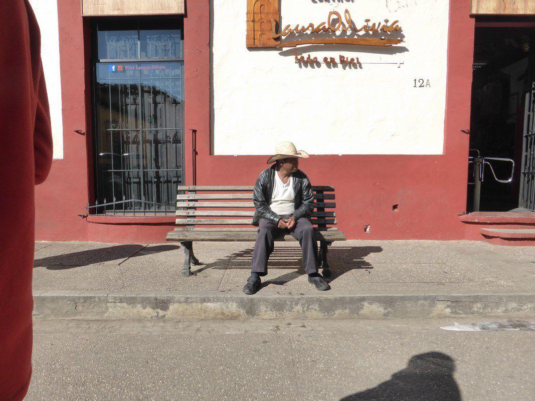 Dans les rues de San Christobal