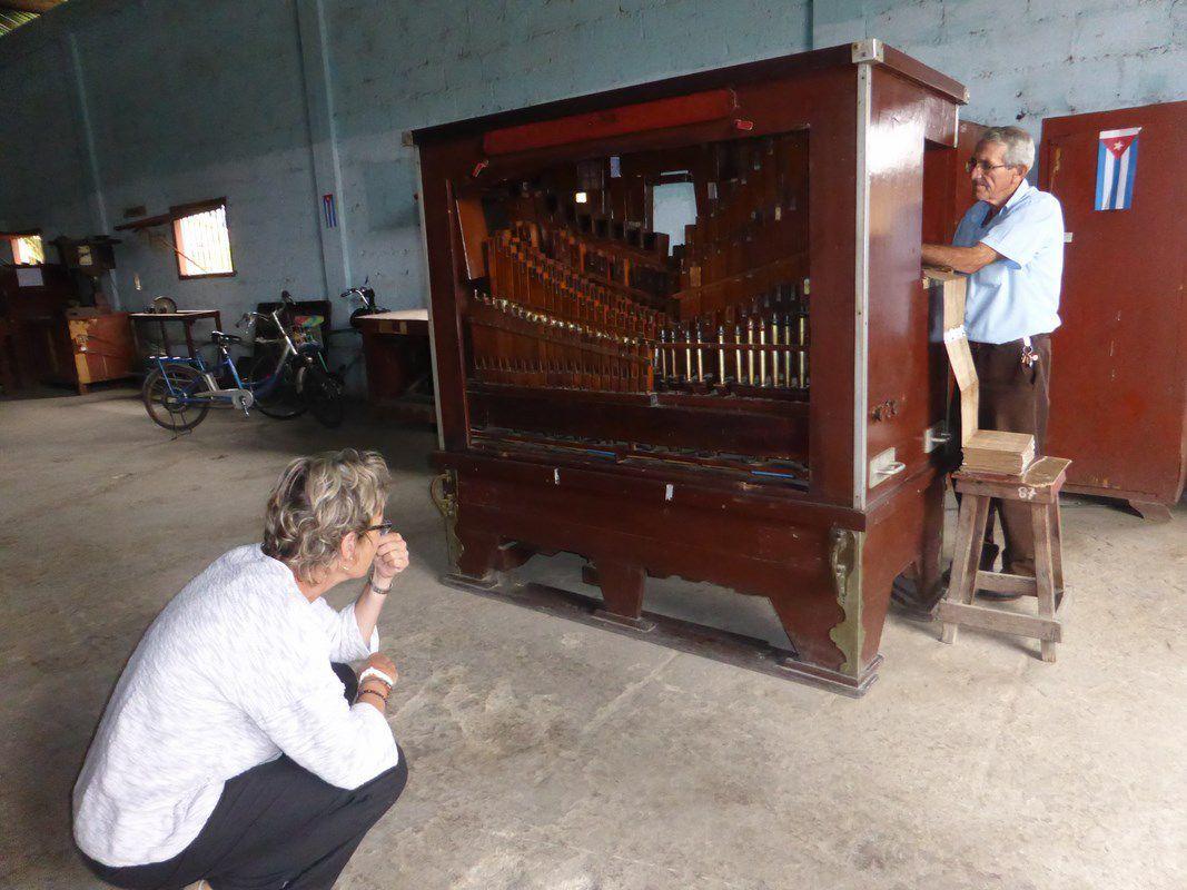Holguin - L'ex fabrique d'orgues de barbarie