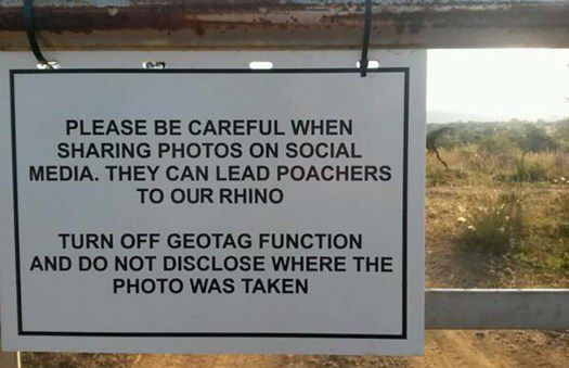 Please be carefull when sharing photos