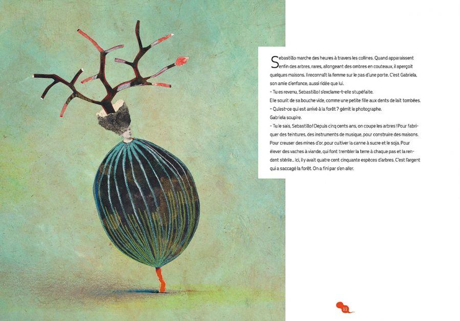 Le sorcier vert - Valentine Goby et Muriel Kerba