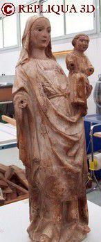Protection et diffusion du Patrimoine: numérisation 3D, archivage numérique, copies, objets souvenirs - Repliqua 3D: sculpteur modeleur 3D