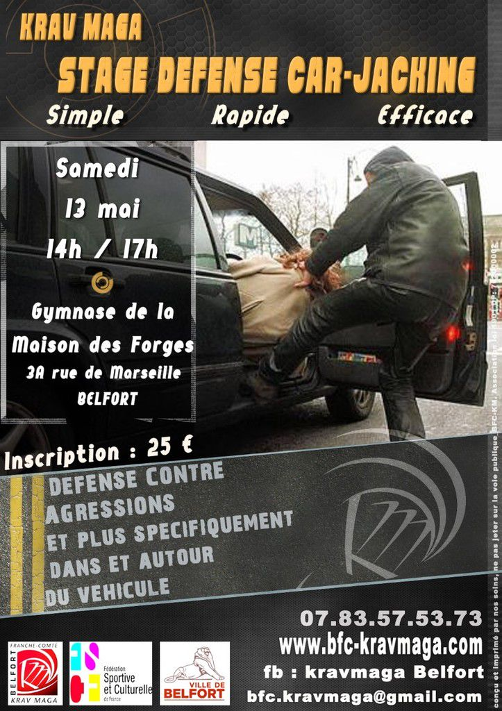 13-05-2017 Stage cas concrets - Défenses contre Car Jacking