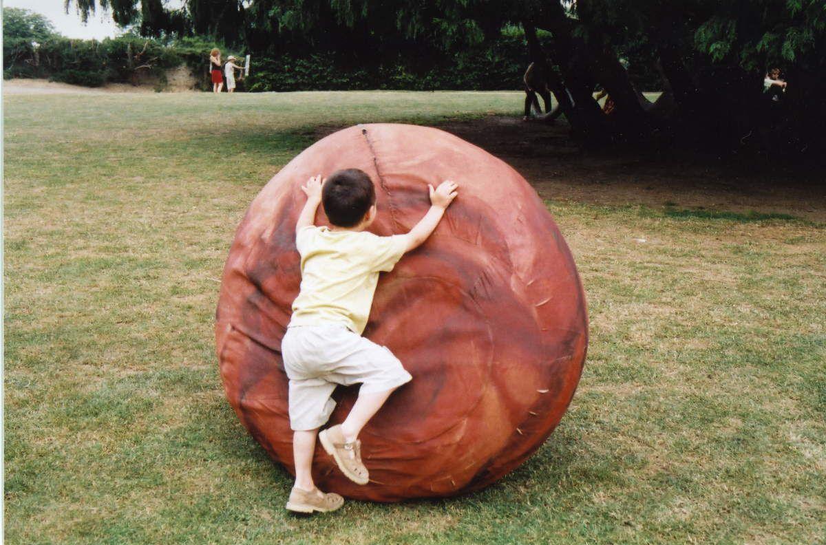 """Un autre titre possible pour cet objet mobile: """"Sisyphe rencontre Mars""""..."""