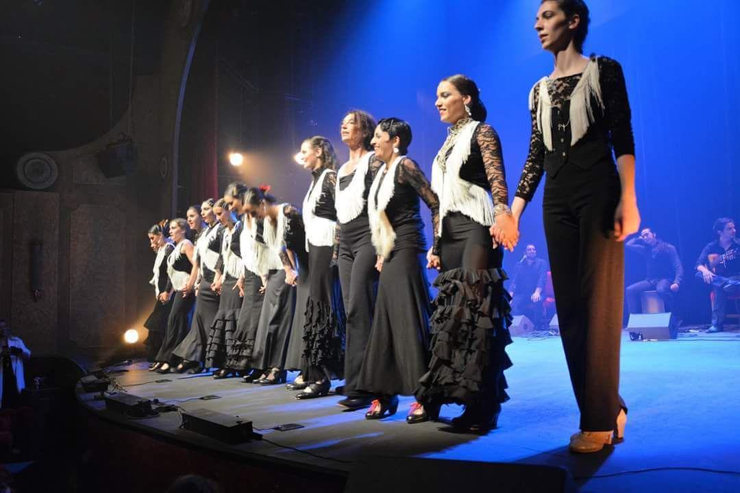 Cours de flamenco à Paris- Spectacle de fin d'année des élèves au Palais des Glaces le 26 juin 2016!
