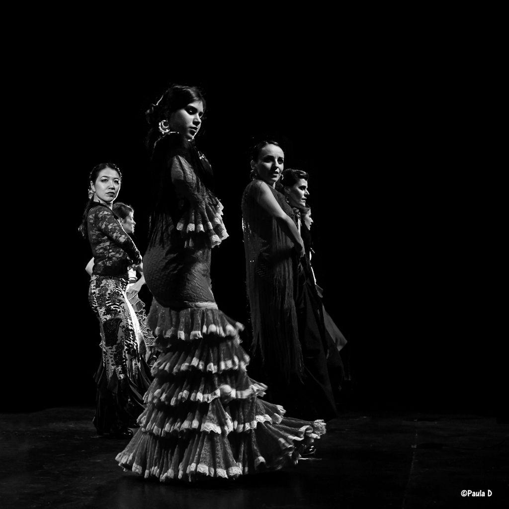 Cours de flamenco à Paris!Photos souvenir spectacle de fin d'année au Palais des Glaces juin 2014§