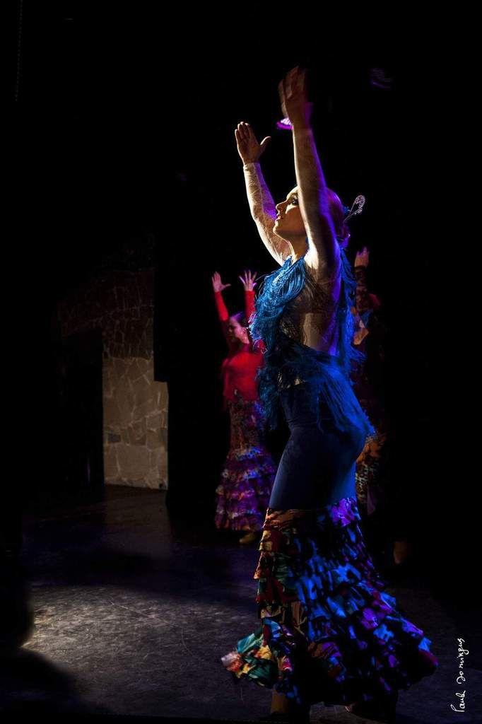 Cours de flamenco à Paris!Spectacle de fin d'année des élèves!Souvenir du Palais des Glaces le 26 juin 2016!
