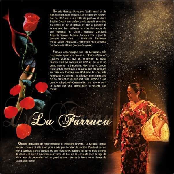 Stage de flamenco à Paris avec La Farruca pendant les vacnaces de La Toussaint!