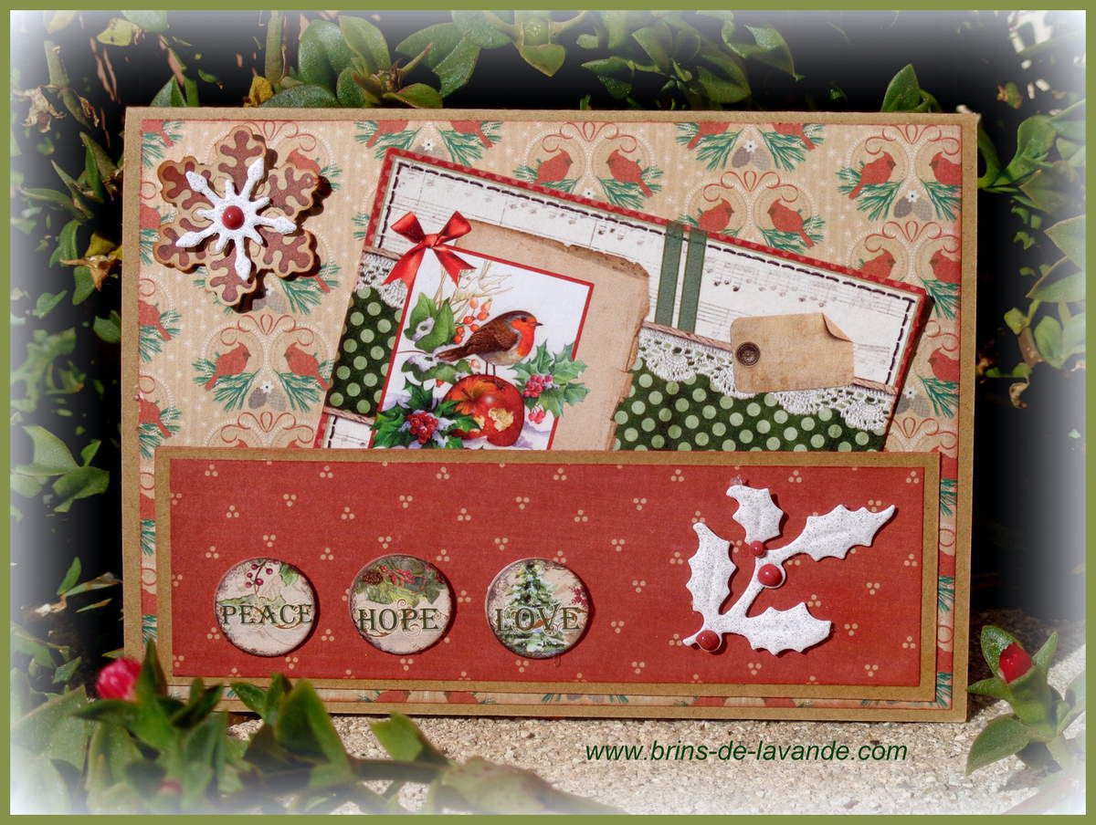 Cartes &quot&#x3B;Traditional Christmas&quot&#x3B;