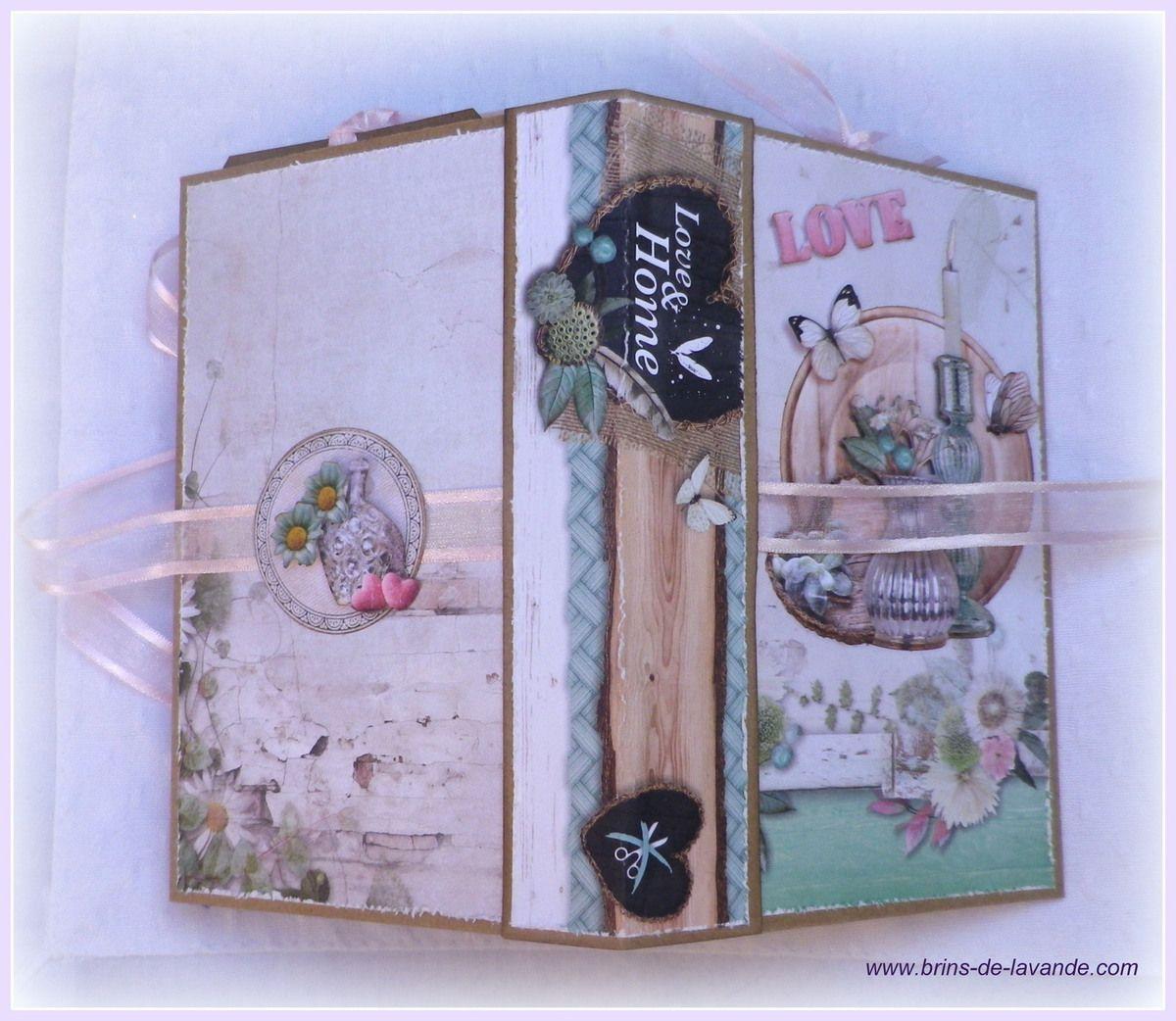 Carte livret Love &amp&#x3B; Home