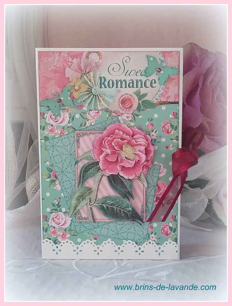 Carte Tags &quot&#x3B;Floral&quot&#x3B;