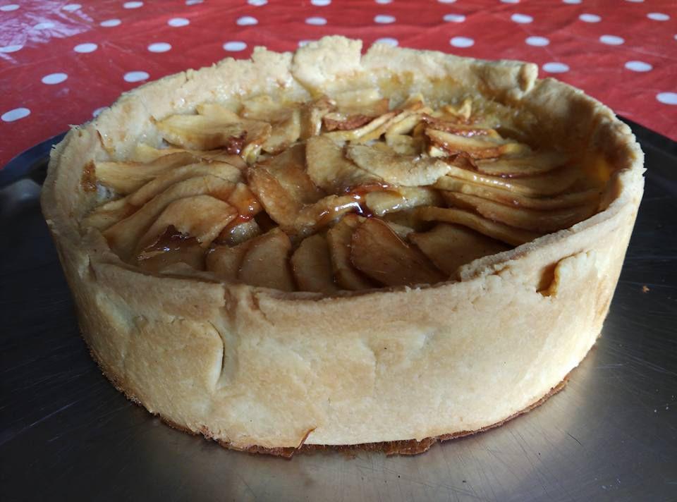 La tarte aux pommes façon grand-mère