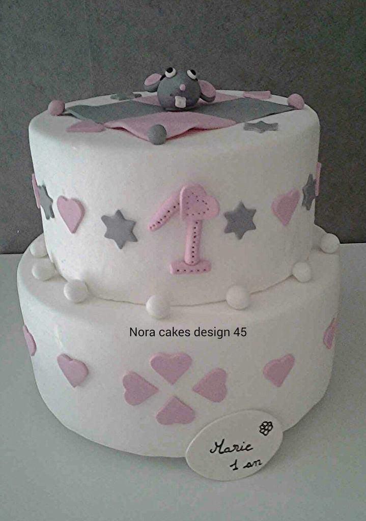wedding cake pour l 39 anniversaire de marie nora cakes design 45. Black Bedroom Furniture Sets. Home Design Ideas