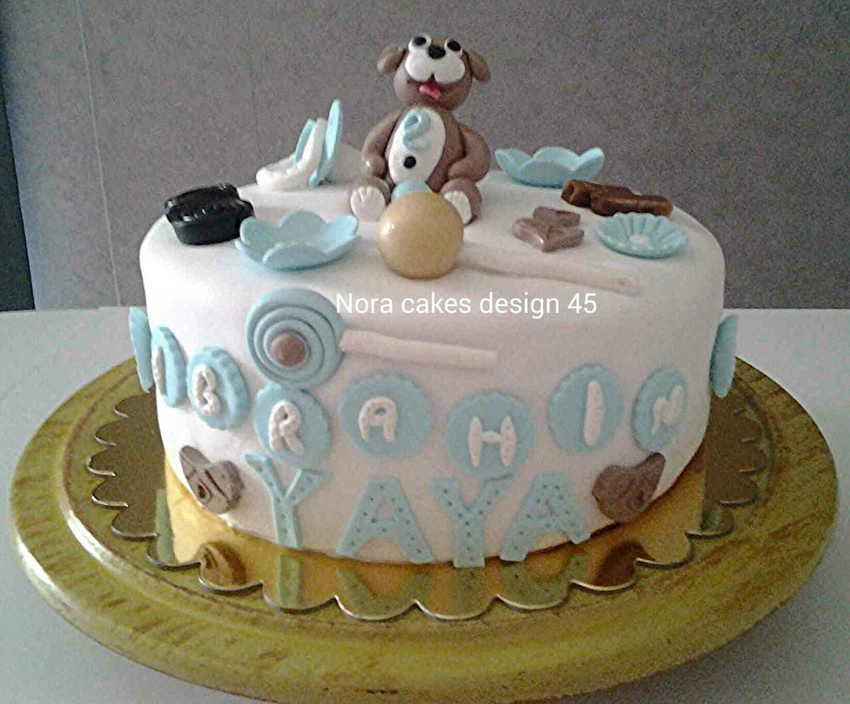 cake design pour l 39 anniversaire d 39 ibrahim yaya qui f te ses 2 ans nora cakes design 45. Black Bedroom Furniture Sets. Home Design Ideas