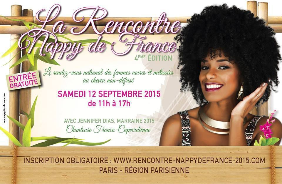 Flyer officiel de la 4° Rencontre Nappy de France