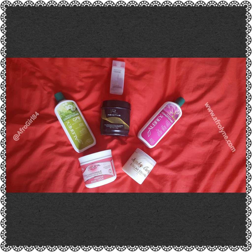 Les produits que j'utilise pour mes Co Wash !