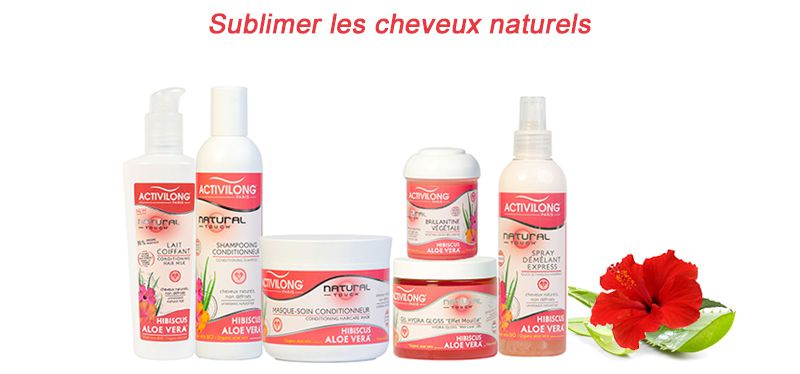 La gamme Activilong - Natural Touch au complet