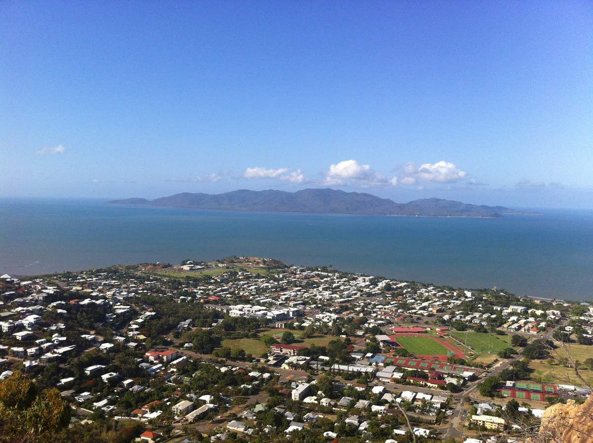 Point de vue sur Townsville